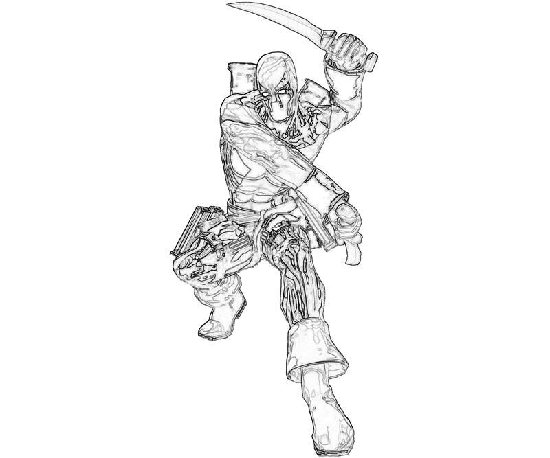 Deadpool Weapon Mario