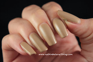 Barry M Matte Nail Paint Caramel