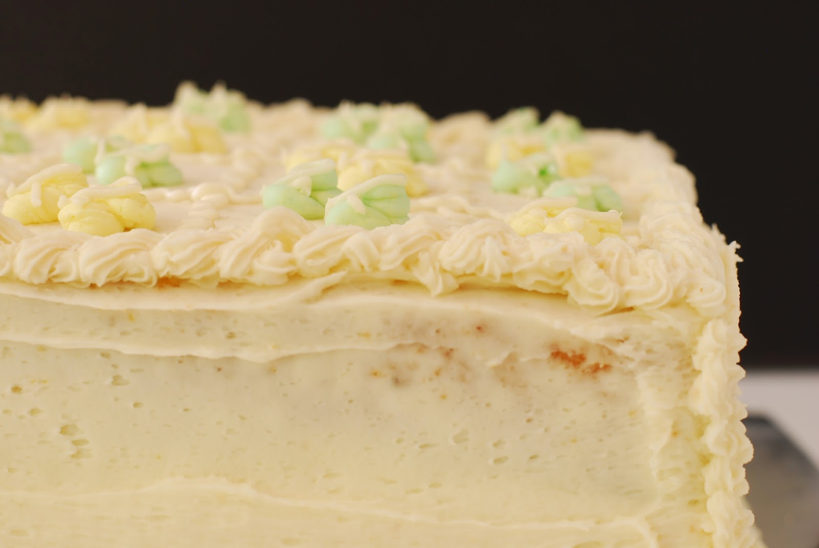 mom's perfect buttercream icing