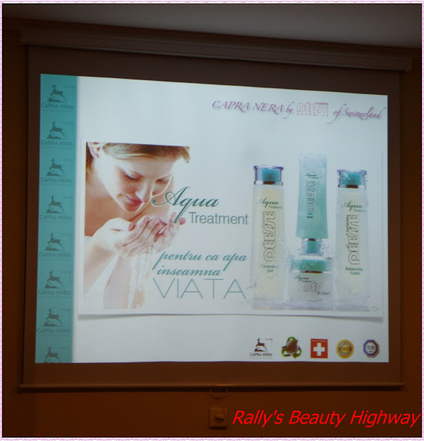 Lansare Aqua Treatment line by Capra Nera