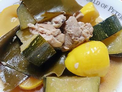 ズッキーニの炊き上げ(煮物)