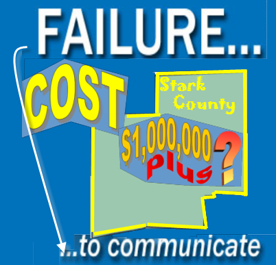 "We all know that ""failure to communicate"" can have ..."