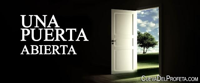 Una puerta abierta