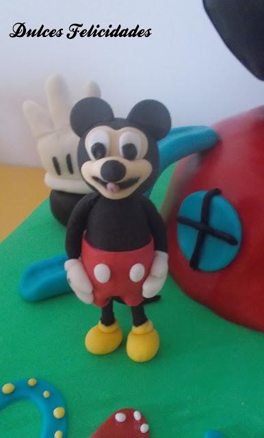 Modelado Mickey Mouse fondant