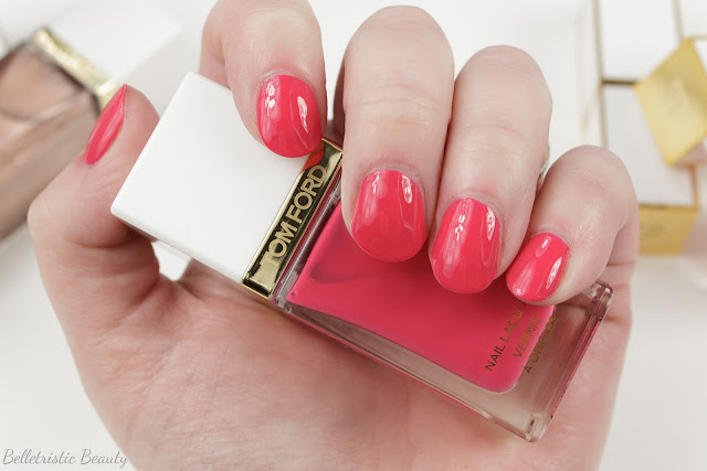 Tom Ford 04 4 Indiscretion Nail Polish Lacquer swatch, Spring 2014 Collection in studio lighting