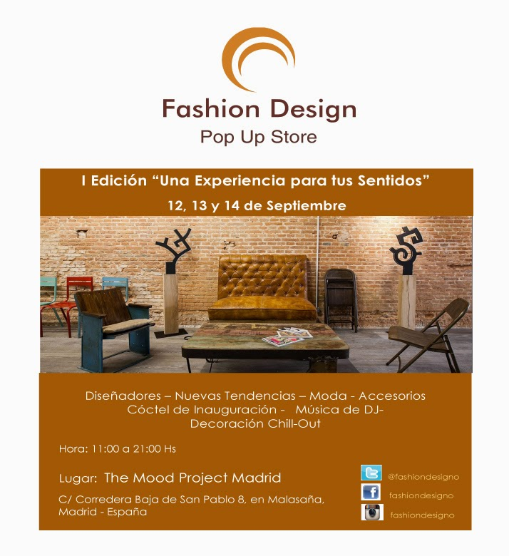 Showroom Fashion Design Abierta Convocatoria Lifestyle