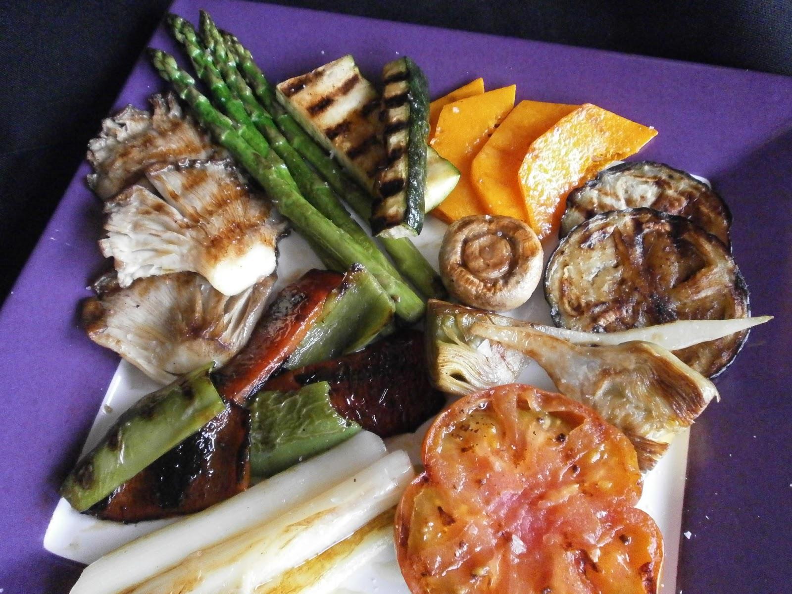 Tximitxurri parrillada de verduras for Parrillada verduras