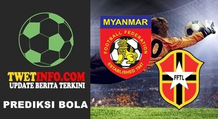 Prediksi Myanmar U19 vs Timor Leste U19