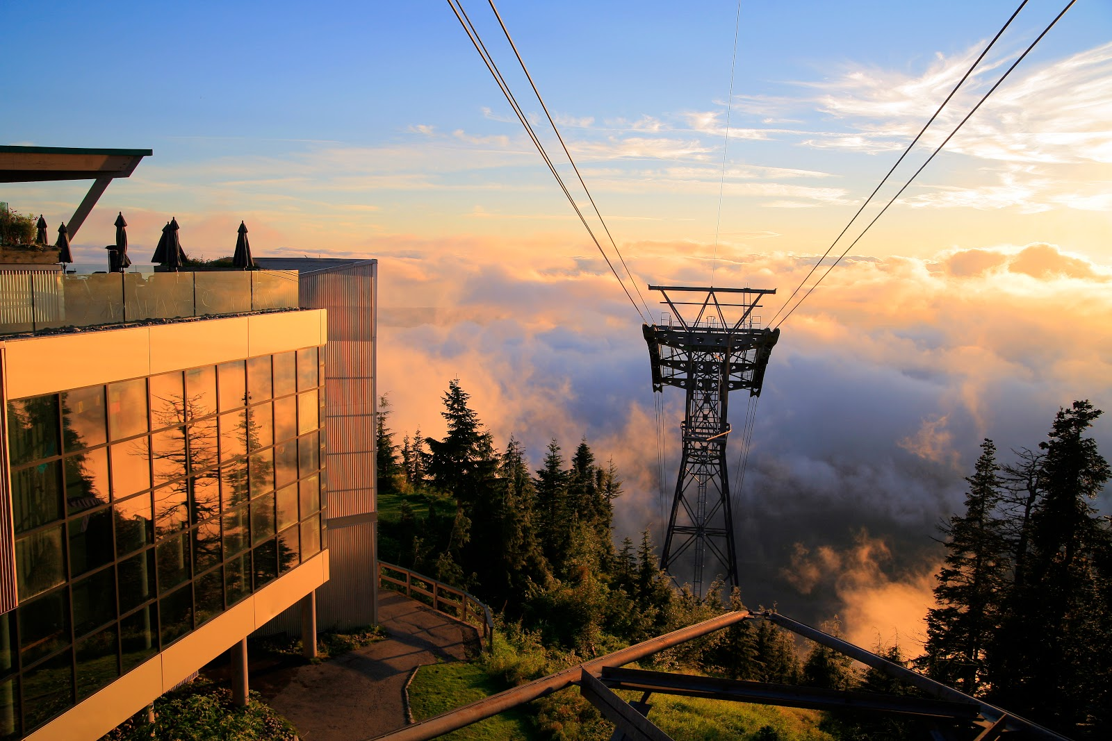 World Beautiful Places Grouse Mountain Vancouver