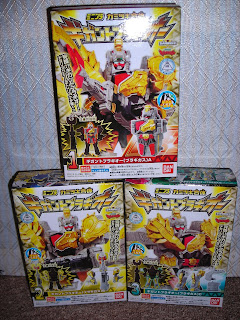 The three candy toy boxes of Bragigas