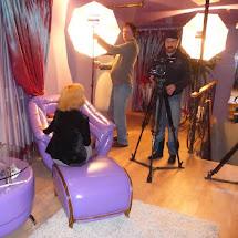 съёмка для канала МИР