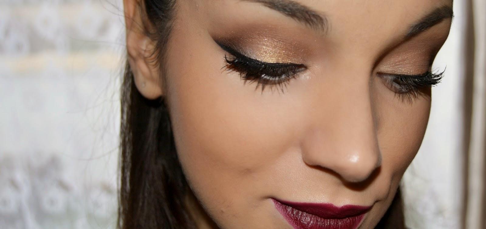 Ratolina Gold Lights Maquillaje Para Fiestas O Eventos - Maquillaje-para-eventos