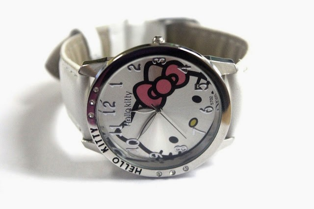 Silver Hello Kitty Watch