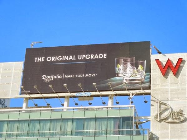 Don Julio Original Upgrade billboard