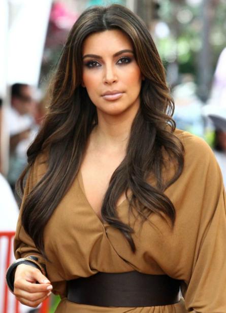 cabelos kim kardashian