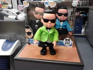 Psy dancing doll figurine