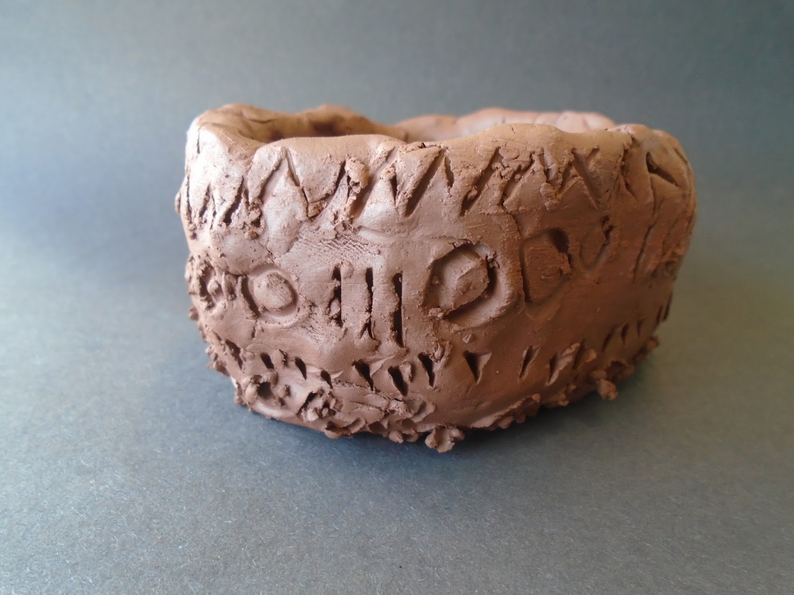 Hitcham 39 s blog anglo saxon pottery by class ps for Pottery patterns