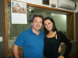 Walter junto Jesica Arfenoni