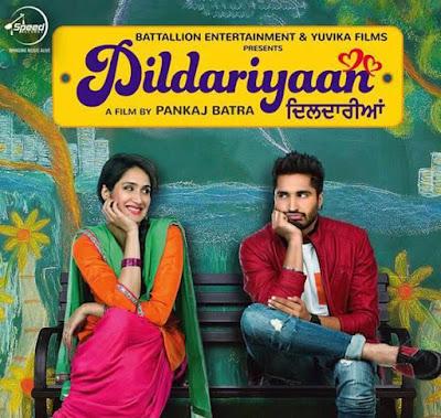 Poster Of Bollywood Movie Dildariyaan 2015 Full Movie Free Download 300MB HDRip 480P Watch Online