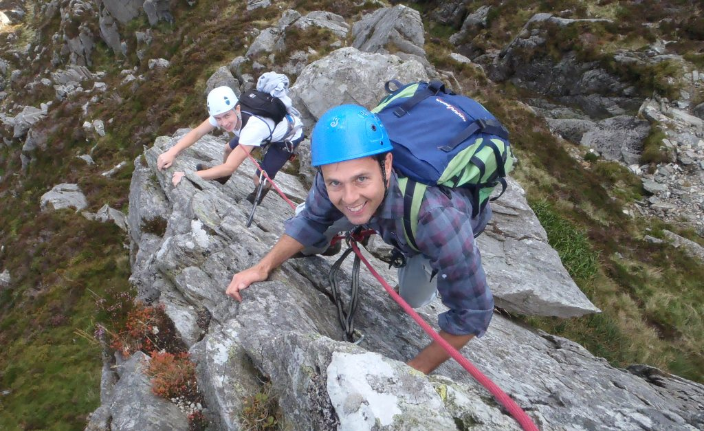 Added Plus To The Tryfan Scrambles