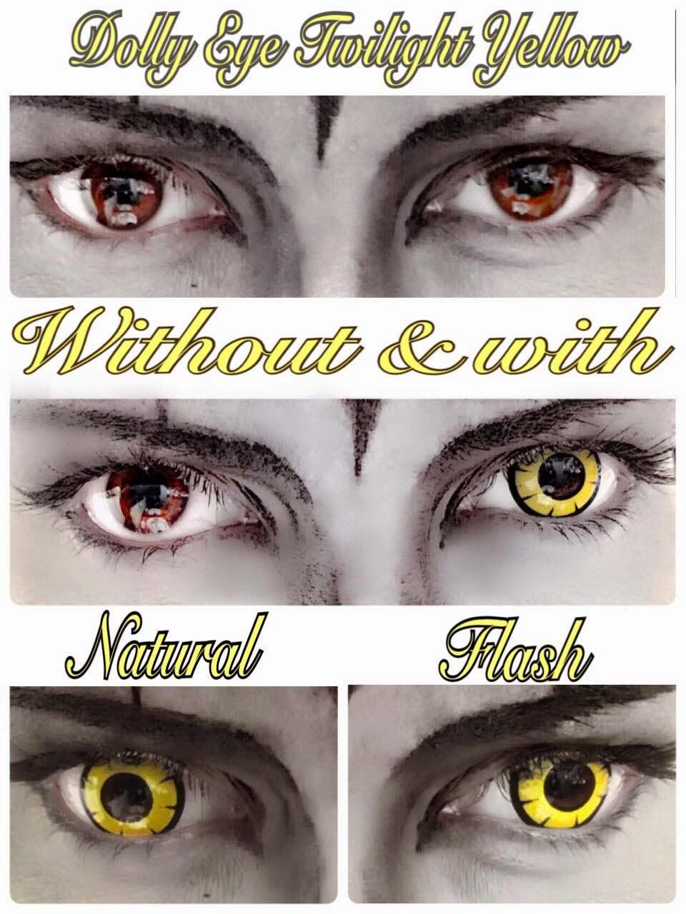Dolly Eye Twilight Yellow