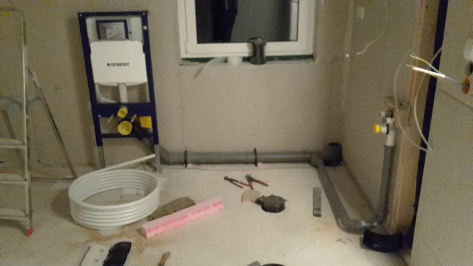 Bautagebuch: Unser Hausbau mit Allkauf: Rohr-Installation Wasser ...