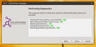 Actualizar drivers intel en Ubuntu 14.10 Fedora, instalar controladores de intel en ubuntu,