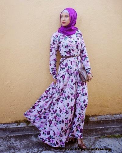 Modèle robe pour hijab