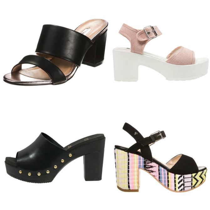 trend scarpe primavera 2015 sabot e zeppe