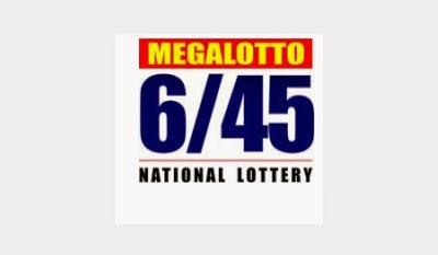 PCSO Mega 6/45 National Lottery Results September 19, 2014