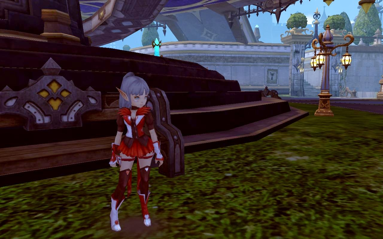 Poker Red  Cover EpicRare //.mediafire.com/?6odtmo56as5gzz2 & Dragon Nest Mods Archer Poker Costume