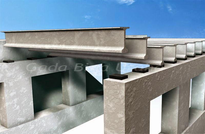 Bantalan Elastomer Jembatan