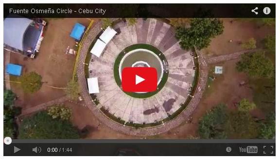 Fuente_Osmena_Circle_Aerial_Video