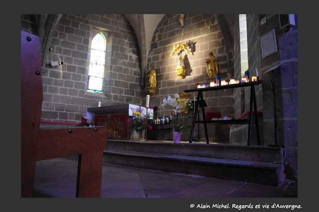 Vassivière intérieur chapelle
