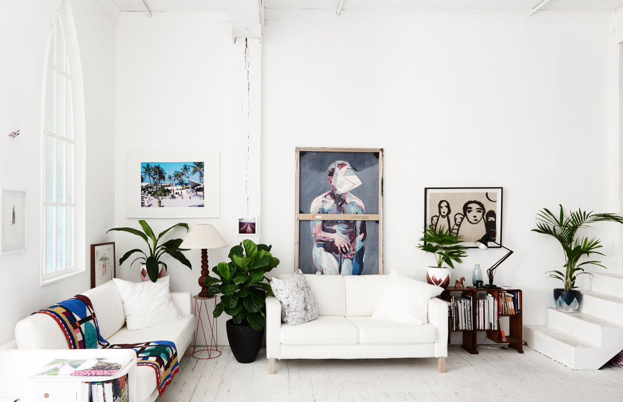 hackney attic: I want our living room to be more like this...