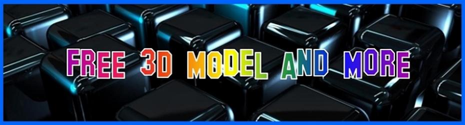 Free 3D Model Animation Film Advertise Scientific Music & Design