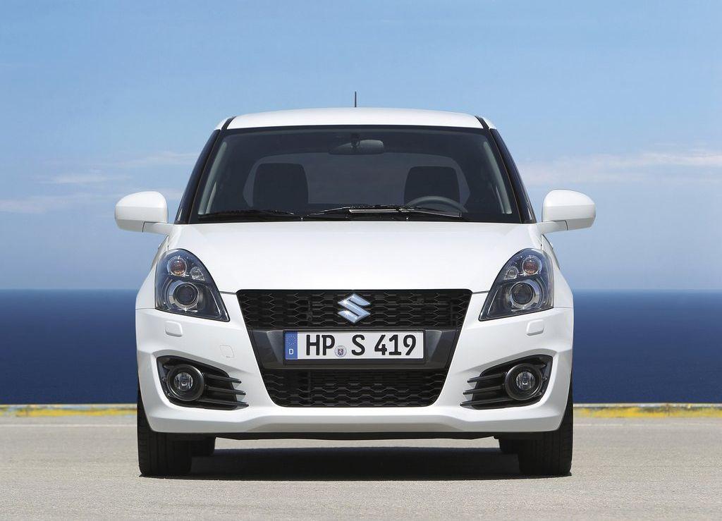 2013 Suzuki Swift Sport Hatchback Maruti Swift White Sport