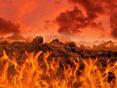 Kewujudan api di Bumi Berasal Dari Neraka