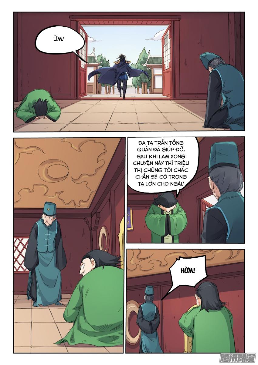 Tinh Võ Thần Quyết trang 9