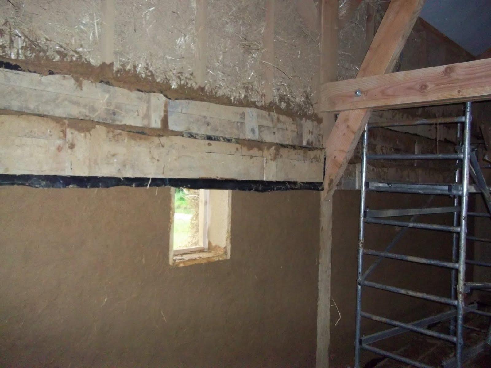 maison passive en terre et paille enduit interieur en terre paille banch. Black Bedroom Furniture Sets. Home Design Ideas