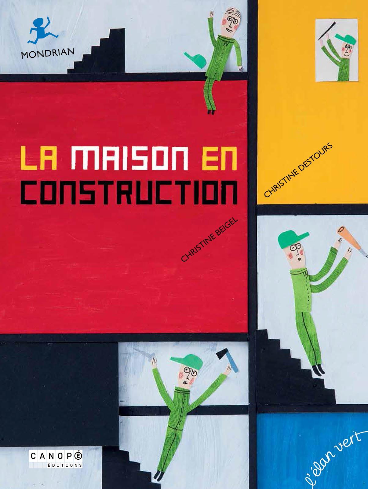 """un """"Pont des arts"""" sur Mondrian"""