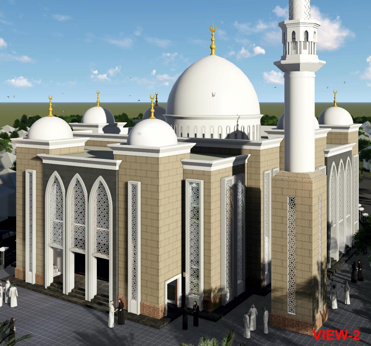 Rencana Pembangunan Masjid Akmaliah