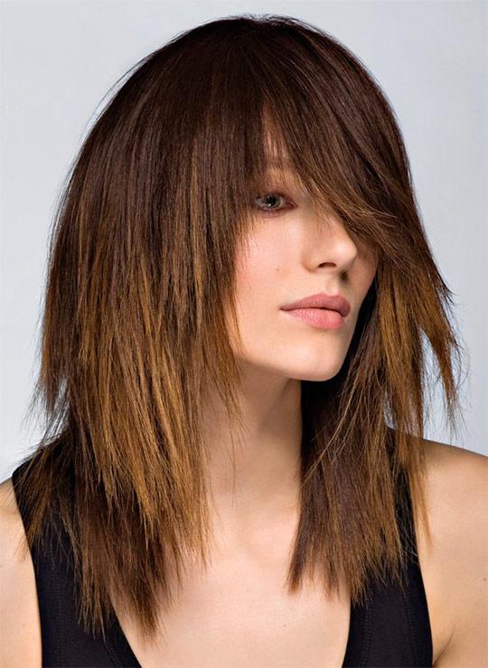 Стрижки на довге волосся 54 фото і