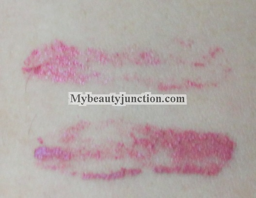 Chanel Rouge Double Intensite Rose Garnet lip colour swatch: My HG lipstick