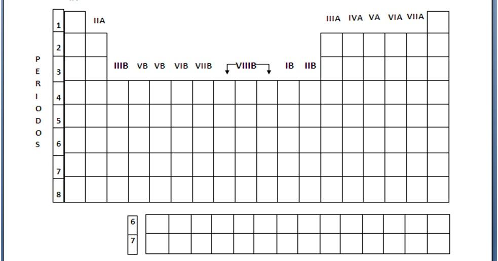 Download tabla periodica tabla periodica de los elementos completa las tareas mas dificiles silueta de la tabla periodica de urtaz Images