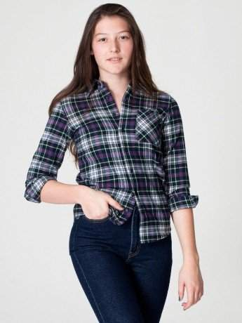 Womens flannel shirts flannel shirts for girls for Girl in flannel shirt