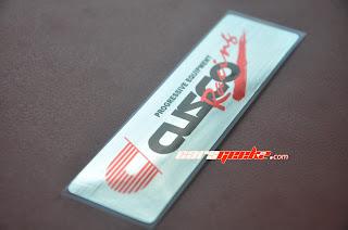 Cusco Racing Progresive Equipment Chrome Silver Brush decals