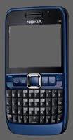 Solusi Nokia E series Blank hitam