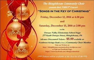 12-12/13 Songs In The Key Of Christmas