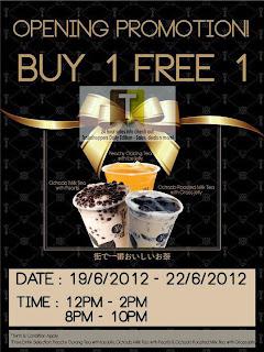 Ochado Bubbletea Buy 1 FREE 1